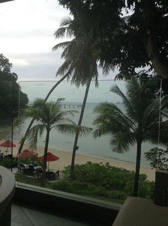 Amari Phuket: view whilst writing my review.