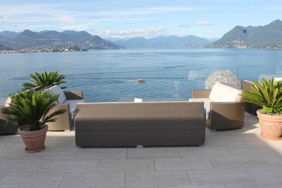 La Palma Hotel : terrasse lounge du 7ème étage