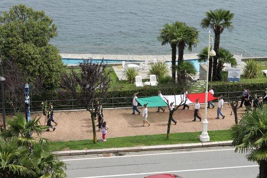 La Palma Hotel : vue de la chambre