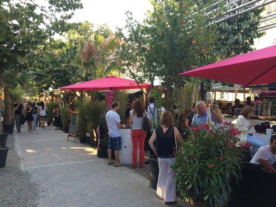 InterContinental Bordeaux Le Grand Hotel : Wine Festival directly outside hotel