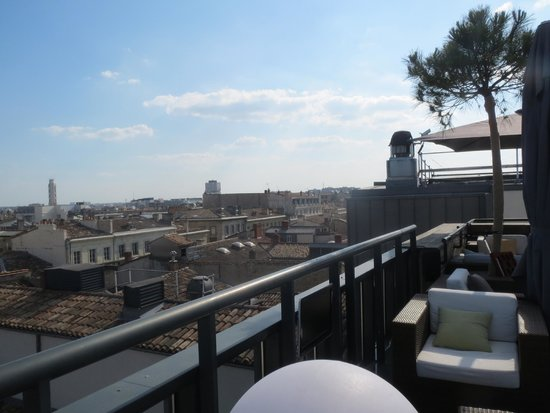 InterContinental Bordeaux Le Grand Hotel : View from roof