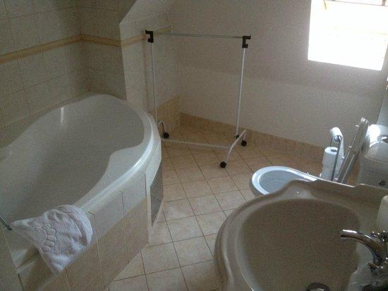 Karlova Apartments : Bathroom in duplex apartment
