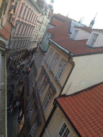 Karlova Apartments : View from room onto Karlova