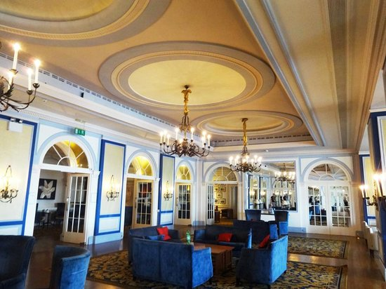 The Imperial Hotel: lobby