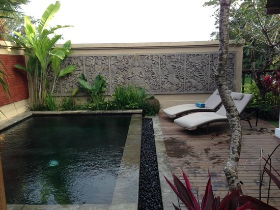 Onje Resort and Villas: Private Pool