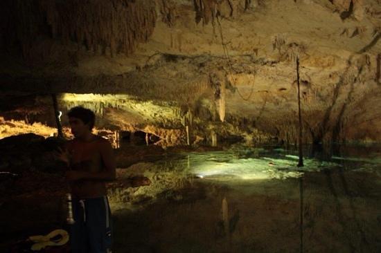 Viva Wyndham Azteca : Une Cenote superbe !