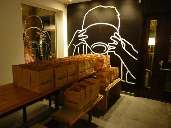Wagamama Nicosia: Restaurant dining area 1