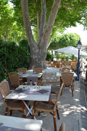 Goudargues, France: Terrasse la Galantine