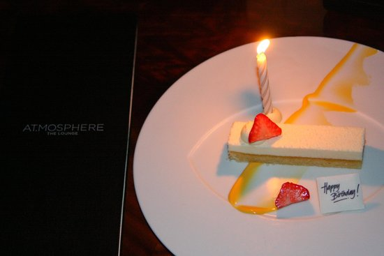 At.Mosphere Restaurant: thank you Atmosphere for the goodwill surprise.