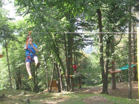 Selvino Adventure Park: carrucola