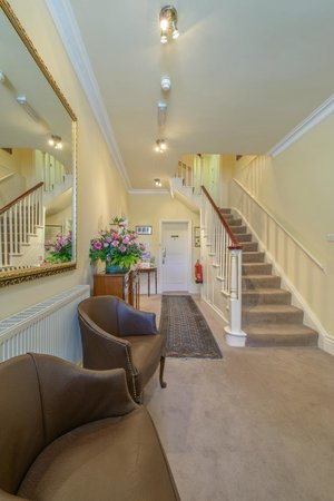Moortown Lodge: Entrance Hallway