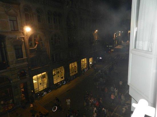 NH Gent Belfort: uitzicht uit onze kamer