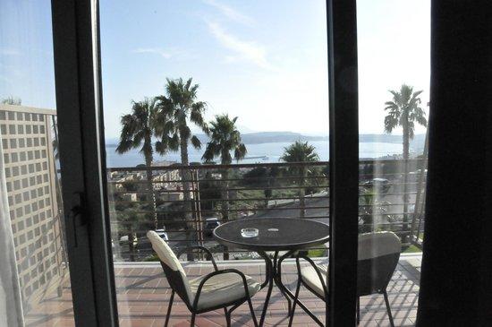Gli Dei Hotel: View from room