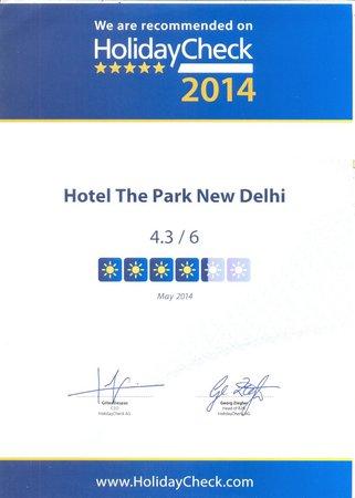 The Park New Delhi: Holiday Check