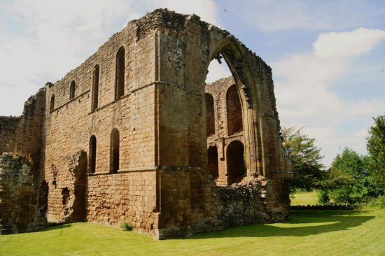 Lilleshall, UK: Lillieshall Abbey:Remains of Augustinian Abbey (English Heritage)