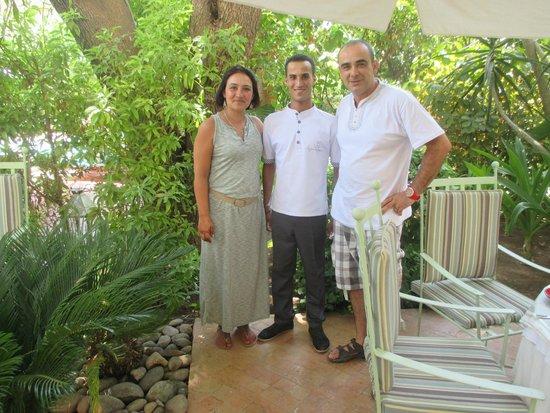 Les Jardins de la Medina: au restaurant