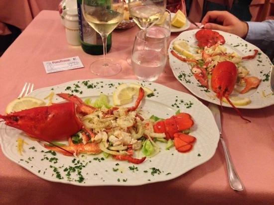 La Capannina: lobster
