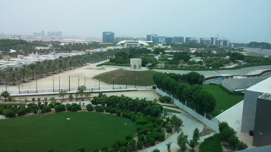 Park Rotana Abu Dhabi: View from room