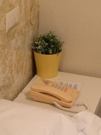 Hotel Restaurant Bon Retorn: Die einzige Deko im Zimmer