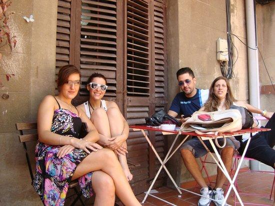 Lullaby Rambla Catalunya: cortile/terrazza