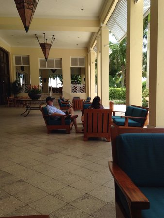 Hyatt Regency Coconut Point Resort and Spa: There is a place for everyone to sit and relax