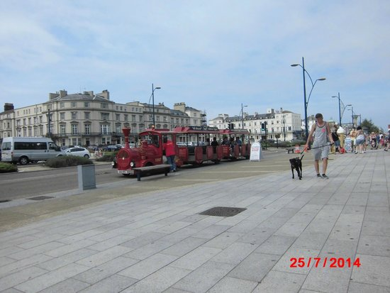 Great Yarmouth Marine Parade: Train