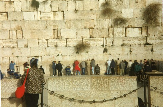 Mur des lamentations : Vid Klagomuren