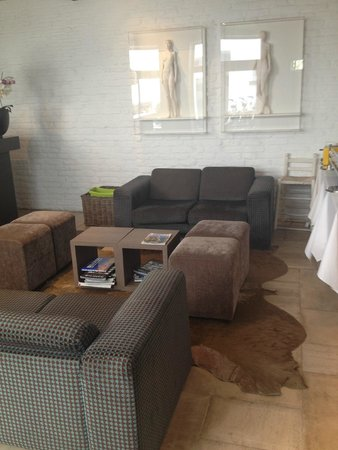 Walwyck Hotel Brugge: Living room