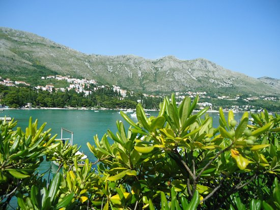 Hotel Astarea: view from restaurant