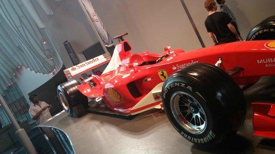 Ferrari World Abu Dhabi: Display