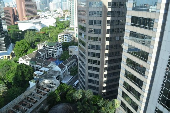 Conrad Bangkok Hotel: view from our suite