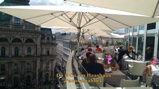 Panoramablick Terrasse 1 Bild Von Do Co Stephansplatz