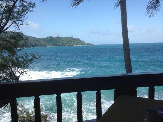 Mom Tri's Villa Royale: View from balcony