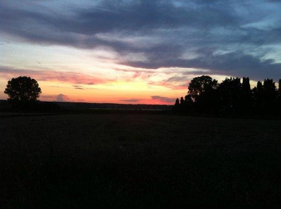 Podere San Michele : tramonto