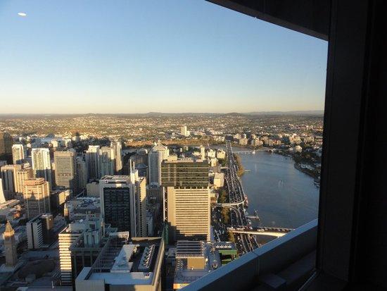 Meriton Serviced Apartments Brisbane on Herschel Street: Brisbane from 68th floor Meriton