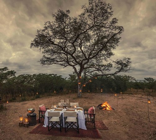 Dulini Lodge: Bush Dinner