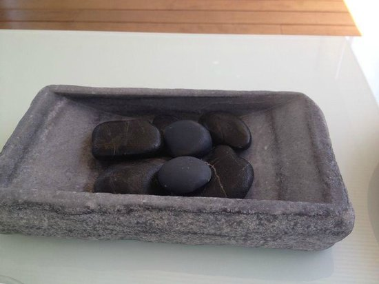 Quique Dacosta : Piedras de parmesano