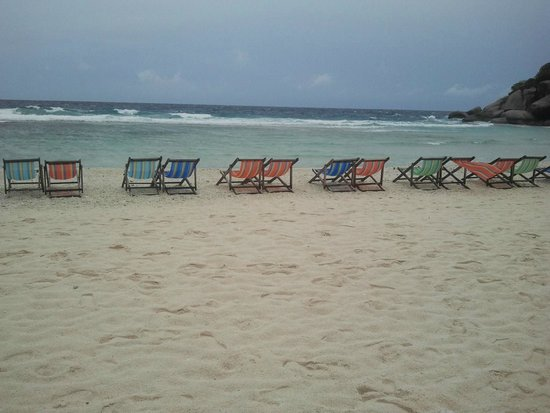 Koh Nang Yuan: Playa en Nangyuan