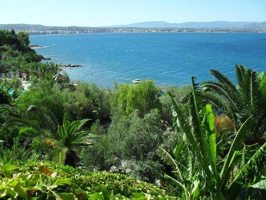 Hotel Pappas : Вид с балкона