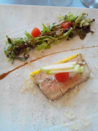 La Grappe d'Or: Assiette de foie gras mi-cuit