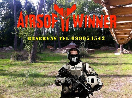 Benimarfull, Espagne : Pista airsoftwinner 2