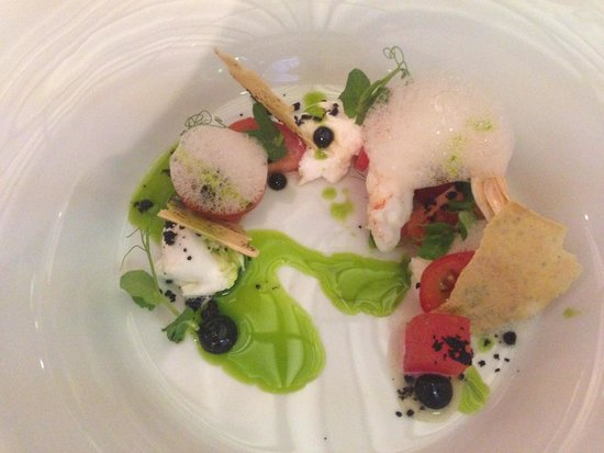 Restaurant Alcron: Scampi