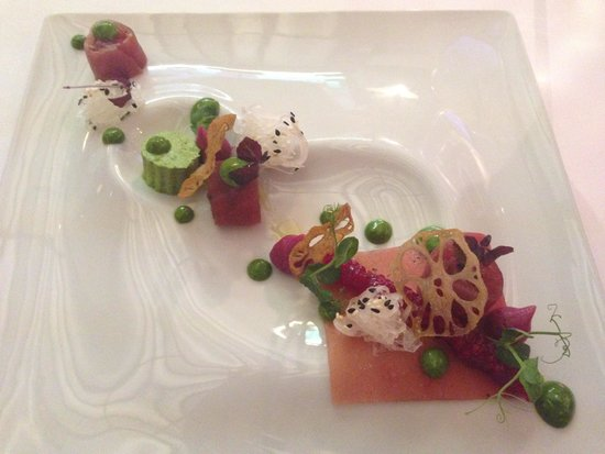 Restaurant Alcron: Sashimi di tonno