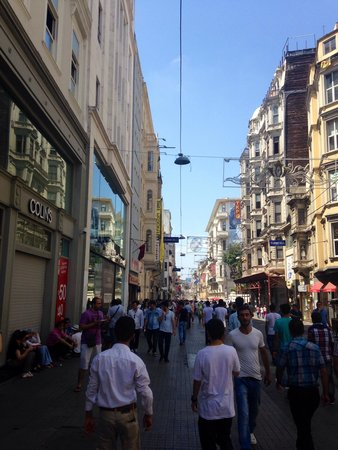 Istanbul Apartments Istiklal: Innenstadt