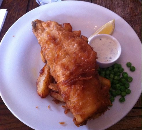 Marquis of Westminster: Fish and chips ��