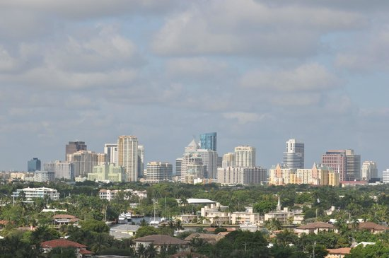 GALLERYone - A DoubleTree Suites by Hilton Hotel: Fort Lauderdale skyline viewed from room