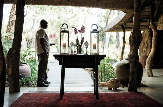 Dulini Lodge: Entrance