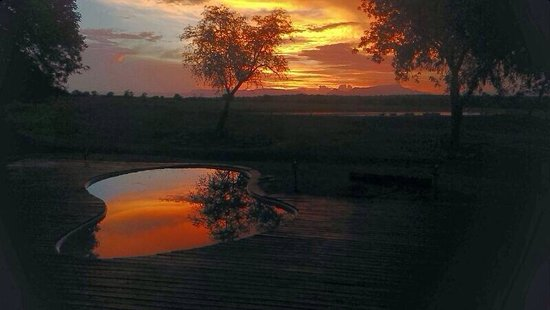 Tangala Safari Camp : Sunset at Tangala. 