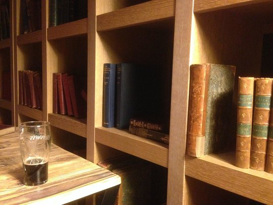 pentahotel Reading: Genuine old editions to read (if you like that sort of thing) over a pint of (canned) Guiness