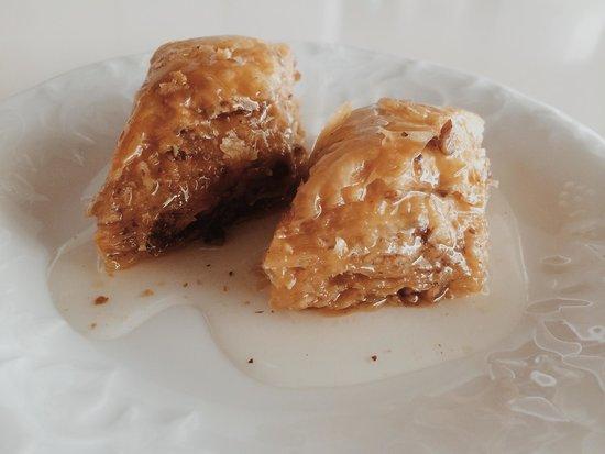 Safranbolu's most popular Baklava's from Safranbolu Zencefil